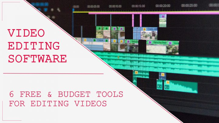 Video editing software for developing online courses
