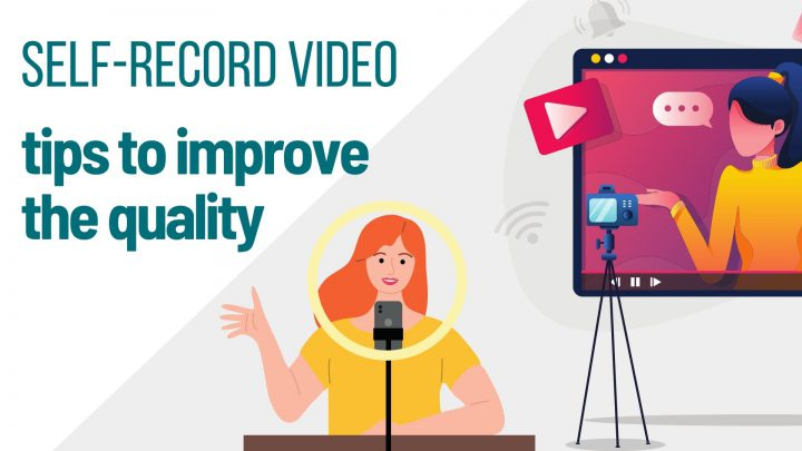 Tips for self-recording your video