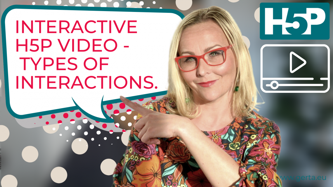 Interactive H5P video. What types of interactions can you include?