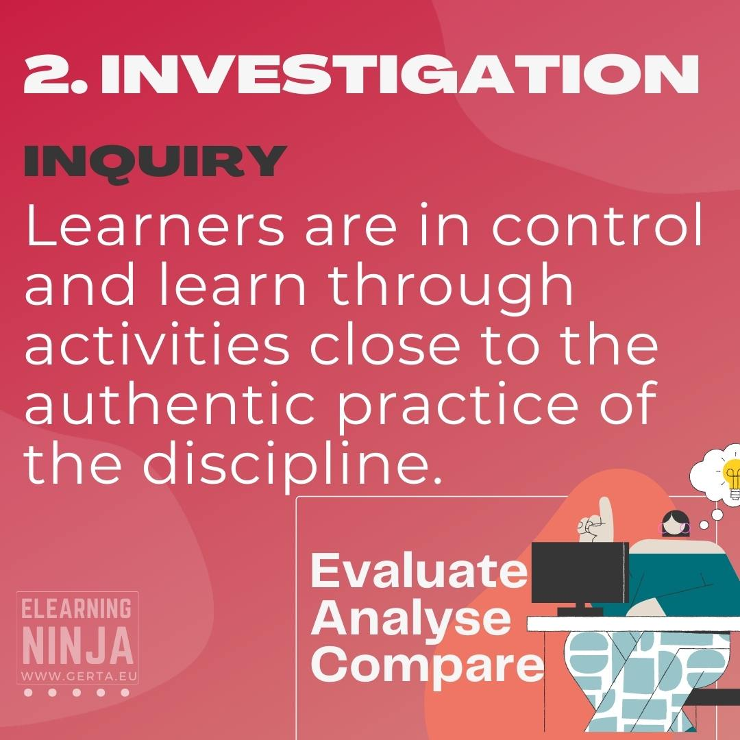 six learning types - investigation