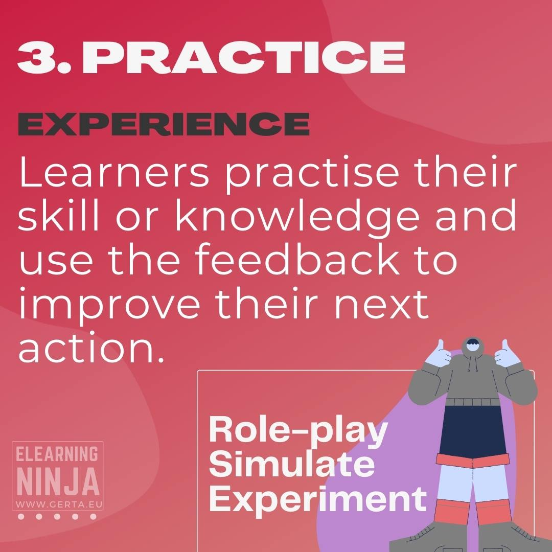 six learning types - practice