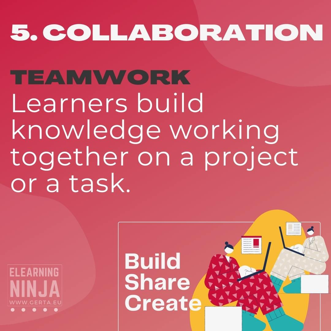 six learning types - collaboration