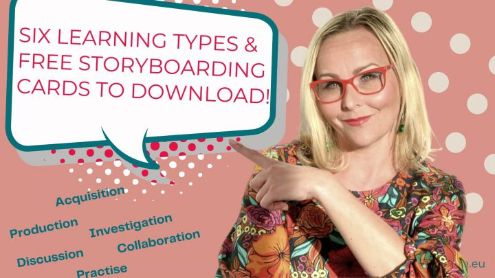Six Learning Types and Storyboarding Cards to Download.